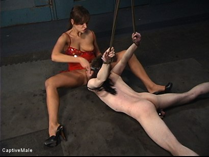 Photo number 18 from Pavlovian Training shot for Captive Male on Kink.com. Featuring Kade and Nika Noire in hardcore BDSM & Fetish porn.