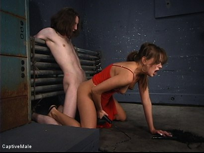 Photo number 4 from Pavlovian Training shot for Captive Male on Kink.com. Featuring Kade and Nika Noire in hardcore BDSM & Fetish porn.