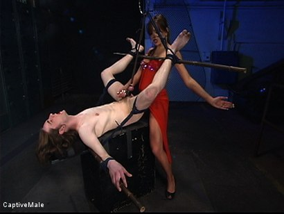 Photo number 6 from Pavlovian Training shot for Captive Male on Kink.com. Featuring Kade and Nika Noire in hardcore BDSM & Fetish porn.