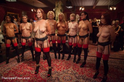 Photo number 1 from Masquerade Orgy with Nine Slaves,100 Horny Guests, Part One shot for The Upper Floor on Kink.com. Featuring Mickey Mod, Bella Rossi, Casey Calvert , Owen Gray, Alani Pi, Penny Barber, Dylan Ryan, Maestro, Beretta James, Nikki Darling, Simone Sonay and Penny Pax in hardcore BDSM & Fetish porn.