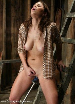 Photo number 7 from Azalea Lee shot for Fucking Machines on Kink.com. Featuring Azalea Lee in hardcore BDSM & Fetish porn.