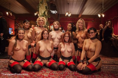 Photo number 15 from Masquerade Orgy with Nine Slaves,100 Horny Guests, Part Two shot for The Upper Floor on Kink.com. Featuring Mickey Mod, Bella Rossi, Casey Calvert , Owen Gray, Alani Pi, Penny Barber, Dylan Ryan, Maestro, Beretta James, Nikki Darling, Simone Sonay and Penny Pax in hardcore BDSM & Fetish porn.