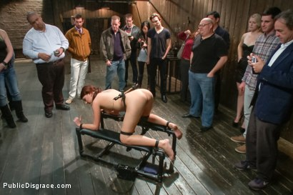 Photo number 5 from Pain slut surrenders to public ass-pounding shot for Public Disgrace on Kink.com. Featuring Bill Bailey and Cassandra Nix in hardcore BDSM & Fetish porn.