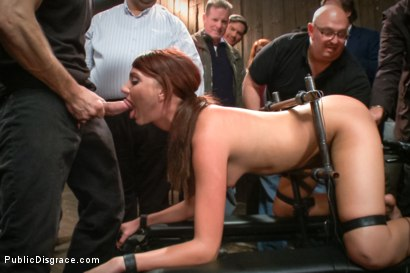 Photo number 10 from Pain slut surrenders to public ass-pounding shot for Public Disgrace on Kink.com. Featuring Bill Bailey and Cassandra Nix in hardcore BDSM & Fetish porn.
