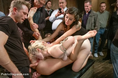 Photo number 14 from Pain slut surrenders to public ass-pounding shot for Public Disgrace on Kink.com. Featuring Bill Bailey and Cassandra Nix in hardcore BDSM & Fetish porn.