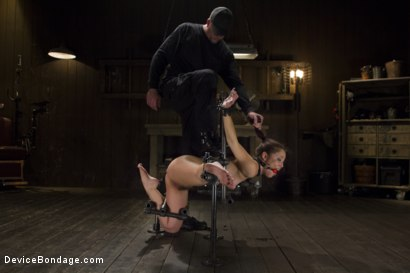 Photo number 15 from Kristina Rose - Overwhelmed with Brutal Bondage and Non-stop Torment  shot for Device Bondage on Kink.com. Featuring Kristina Rose in hardcore BDSM & Fetish porn.