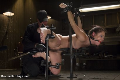 Photo number 5 from Kristina Rose - Overwhelmed with Brutal Bondage and Non-stop Torment  shot for Device Bondage on Kink.com. Featuring Kristina Rose in hardcore BDSM & Fetish porn.