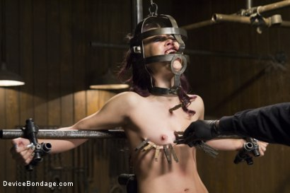 Photo number 7 from Kristina Rose - Overwhelmed with Brutal Bondage and Non-stop Torment  shot for Device Bondage on Kink.com. Featuring Kristina Rose in hardcore BDSM & Fetish porn.