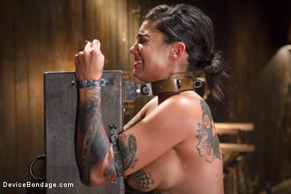 Photo number 11 from Bonnie Rotten-Uncontrollable Squirting Orgasms!!!! shot for Device Bondage on Kink.com. Featuring Bonnie Rotten and Orlando in hardcore BDSM & Fetish porn.