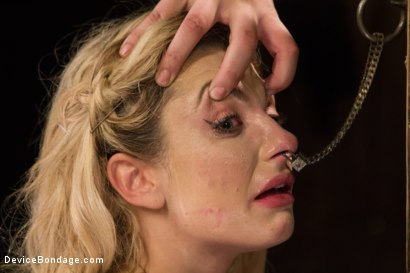 Photo number 10 from Dahlia Sky aka Bailey Blue, Destroyed by Brutality shot for Device Bondage on Kink.com. Featuring Dahlia Sky and Orlando in hardcore BDSM & Fetish porn.