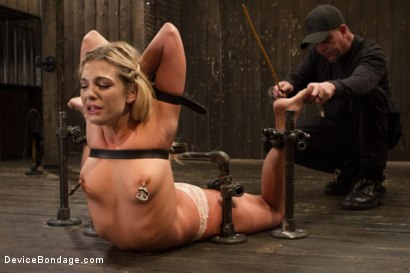 Photo number 3 from Dahlia Sky aka Bailey Blue, Destroyed by Brutality shot for Device Bondage on Kink.com. Featuring Dahlia Sky and Orlando in hardcore BDSM & Fetish porn.