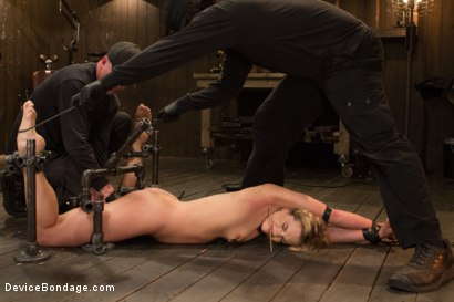 Photo number 5 from Dahlia Sky aka Bailey Blue, Destroyed by Brutality shot for Device Bondage on Kink.com. Featuring Dahlia Sky and Orlando in hardcore BDSM & Fetish porn.