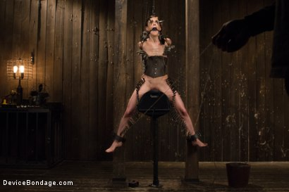 Photo number 1 from Annihilation of Elise Graves shot for Device Bondage on Kink.com. Featuring Elise Graves in hardcore BDSM & Fetish porn.