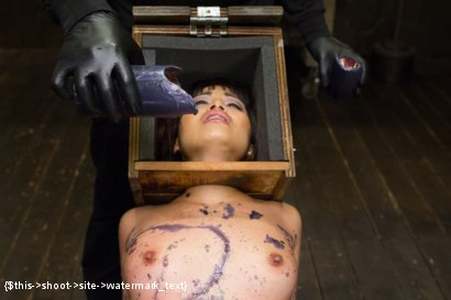 Photo number 4 from Asian Whore is Shocked and Fucked into Oblivion  shot for Device Bondage on Kink.com. Featuring Orlando and Milcah Halili in hardcore BDSM & Fetish porn.