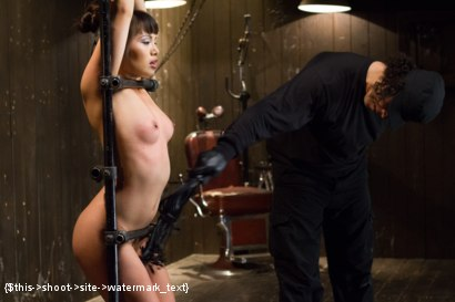 Photo number 9 from Asian Whore is Shocked and Fucked into Oblivion  shot for Device Bondage on Kink.com. Featuring Orlando and Milcah Halili in hardcore BDSM & Fetish porn.