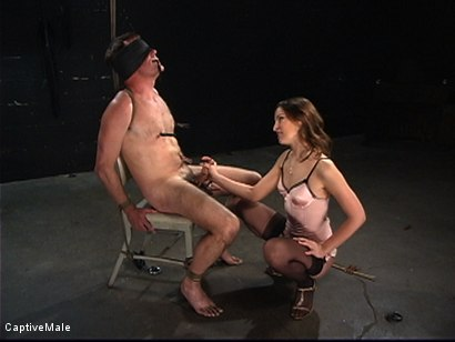 Photo number 9 from An Inordinate Amount Of Pain shot for Captive Male on Kink.com. Featuring Amber Rayne and Wild Bill in hardcore BDSM & Fetish porn.