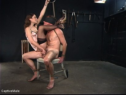 Photo number 10 from An Inordinate Amount Of Pain shot for Captive Male on Kink.com. Featuring Amber Rayne and Wild Bill in hardcore BDSM & Fetish porn.