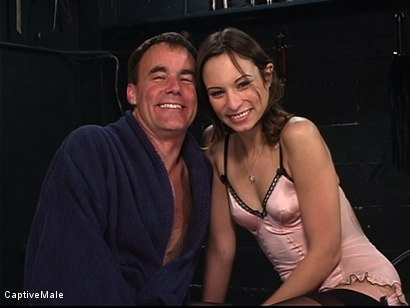 Photo number 15 from An Inordinate Amount Of Pain shot for Captive Male on Kink.com. Featuring Amber Rayne and Wild Bill in hardcore BDSM & Fetish porn.