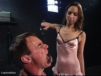 Photo number 5 from An Inordinate Amount Of Pain shot for Captive Male on Kink.com. Featuring Amber Rayne and Wild Bill in hardcore BDSM & Fetish porn.