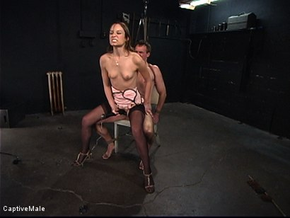 Photo number 6 from An Inordinate Amount Of Pain shot for Captive Male on Kink.com. Featuring Amber Rayne and Wild Bill in hardcore BDSM & Fetish porn.