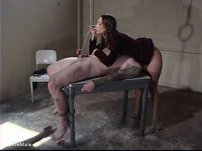 Photo number 8 from Bitchboy's Ordeal shot for Captive Male on Kink.com. Featuring Amber Rayne and Ryan Knox in hardcore BDSM & Fetish porn.