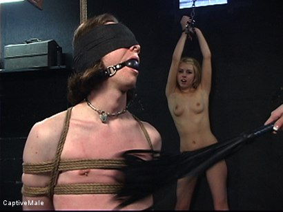 Photo number 1 from Miss Audrey's Slaves shot for Captive Male on Kink.com. Featuring Lexi Belle, Audrey Leigh and Kade in hardcore BDSM & Fetish porn.