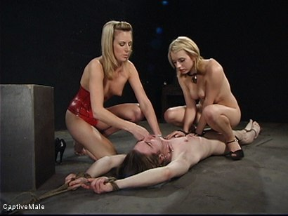Photo number 14 from Miss Audrey's Slaves shot for Captive Male on Kink.com. Featuring Lexi Belle, Audrey Leigh and Kade in hardcore BDSM & Fetish porn.