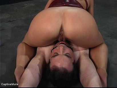 Photo number 11 from A Slave Milked shot for Captive Male on Kink.com. Featuring Penny Flame and Les Moore in hardcore BDSM & Fetish porn.