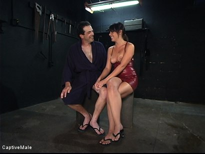 Photo number 14 from A Slave Milked shot for Captive Male on Kink.com. Featuring Penny Flame and Les Moore in hardcore BDSM & Fetish porn.