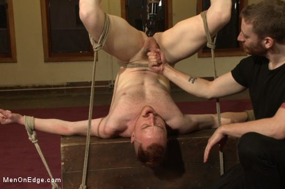 Photo number 13 from Hot rocker dude oozes pre-cum as he's ass fucked & edged shot for Men On Edge on Kink.com. Featuring Damien Moreau in hardcore BDSM & Fetish porn.