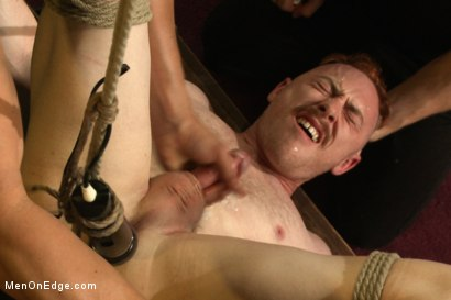 Photo number 14 from Hot rocker dude oozes pre-cum as he's ass fucked & edged shot for Men On Edge on Kink.com. Featuring Damien Moreau in hardcore BDSM & Fetish porn.