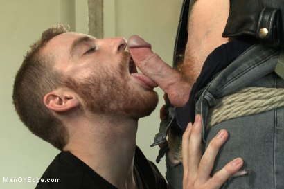 Photo number 2 from Hot rocker dude oozes pre-cum as he's ass fucked & edged shot for Men On Edge on Kink.com. Featuring Damien Moreau in hardcore BDSM & Fetish porn.