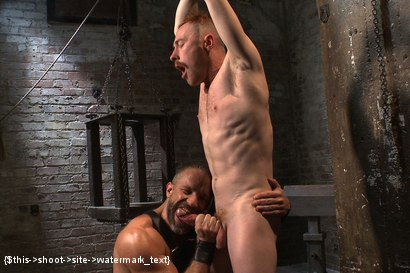 Photo number 3 from Power Play shot for Bound Gods on Kink.com. Featuring Dirk Caber and Damien Moreau in hardcore BDSM & Fetish porn.