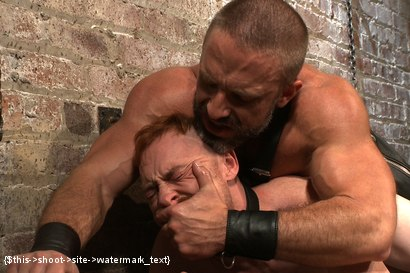 Photo number 14 from Power Play shot for Bound Gods on Kink.com. Featuring Dirk Caber and Damien Moreau in hardcore BDSM & Fetish porn.