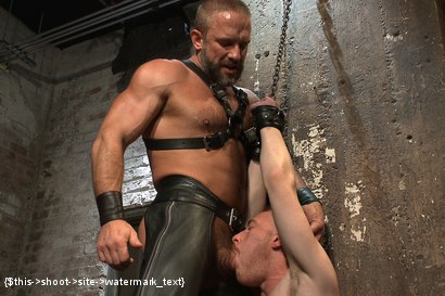 Photo number 1 from Power Play shot for Bound Gods on Kink.com. Featuring Dirk Caber and Damien Moreau in hardcore BDSM & Fetish porn.