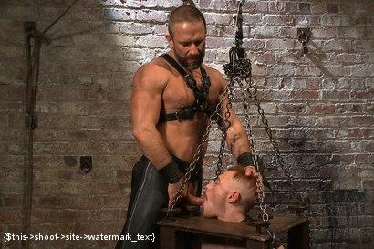 Photo number 6 from Power Play shot for Bound Gods on Kink.com. Featuring Dirk Caber and Damien Moreau in hardcore BDSM & Fetish porn.