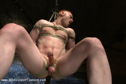 Photo number 6 from Damien Moreau takes the ultimate challenge and begs for more! shot for 30 Minutes of Torment on Kink.com. Featuring Damien Moreau in hardcore BDSM & Fetish porn.