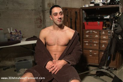 Photo number 15 from Straight Stud - The Chair - The Pit - The Water Chamber shot for 30 Minutes of Torment on Kink.com. Featuring Andrew Fitch in hardcore BDSM & Fetish porn.