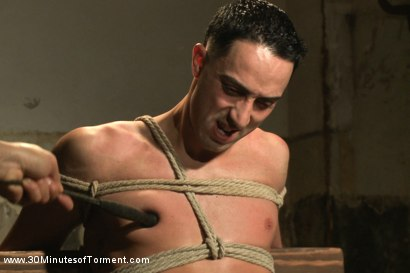 Photo number 12 from Straight Stud - The Chair - The Pit - The Water Chamber shot for 30 Minutes of Torment on Kink.com. Featuring Andrew Fitch in hardcore BDSM & Fetish porn.