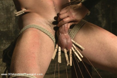 Photo number 4 from Straight Stud - The Chair - The Pit - The Water Chamber shot for 30 Minutes of Torment on Kink.com. Featuring Andrew Fitch in hardcore BDSM & Fetish porn.