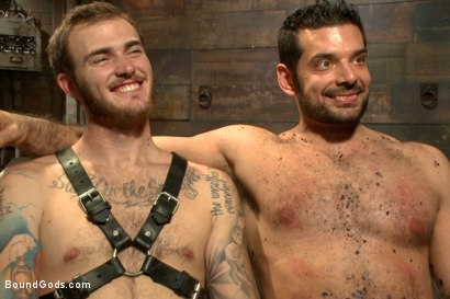 Photo number 15 from Mr Wilde binds and fucks a muscled body builder with an uncut cock shot for Bound Gods on Kink.com. Featuring Christian Wilde and Marcus Ruhl in hardcore BDSM & Fetish porn.