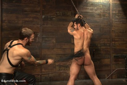 Photo number 4 from Mr Wilde binds and fucks a muscled body builder with an uncut cock shot for Bound Gods on Kink.com. Featuring Christian Wilde and Marcus Ruhl in hardcore BDSM & Fetish porn.