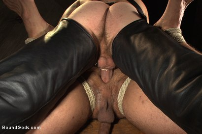 Photo number 8 from Mr Wilde binds and fucks a muscled body builder with an uncut cock shot for Bound Gods on Kink.com. Featuring Christian Wilde and Marcus Ruhl in hardcore BDSM & Fetish porn.