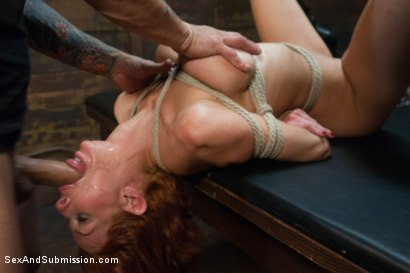 Photo number 6 from Cunt Holes: Multi Orgasmic Squirting Submissive Anal Slut! shot for Sex And Submission on Kink.com. Featuring Veronica Avluv and Mr. Pete in hardcore BDSM & Fetish porn.