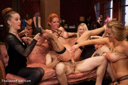 Photo number 11 from Two Gorgeous MILFs Fucked at the Anal Brunch shot for The Upper Floor on Kink.com. Featuring Maestro, Veronica Avluv and Holly Heart in hardcore BDSM & Fetish porn.