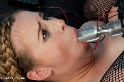 Photo number 17 from 18 YEAR OLD ELECTROFUCKED SLUT!! shot for Electro Sluts on Kink.com. Featuring Aiden Starr and Jessie Parker in hardcore BDSM & Fetish porn.
