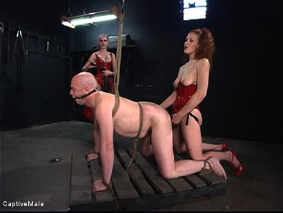 Photo number 13 from The Rubber Toy shot for Captive Male on Kink.com. Featuring Mz Berlin, Patrick Andraste and Sabrina Fox in hardcore BDSM & Fetish porn.