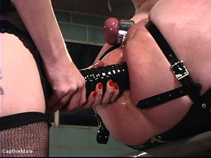 Photo number 14 from The Fisting shot for Captive Male on Kink.com. Featuring Mz Berlin and Patrick Andraste in hardcore BDSM & Fetish porn.