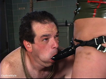 Photo number 9 from Military Recruit Sodomized shot for Captive Male on Kink.com. Featuring Harmony and Les Moore in hardcore BDSM & Fetish porn.
