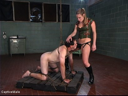 Photo number 6 from Military Recruit Sodomized shot for Captive Male on Kink.com. Featuring Harmony and Les Moore in hardcore BDSM & Fetish porn.